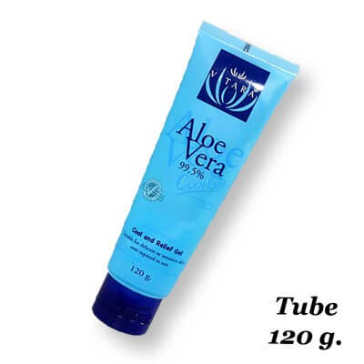Gel aloe vera 99% cool tube 120g Vitara