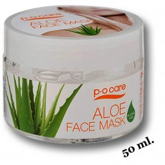 Masque visage aloe vera 50ml. Po Care