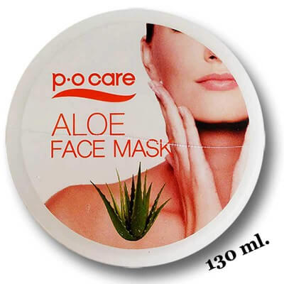 Masque visage aloe vera 130ml. Po Care