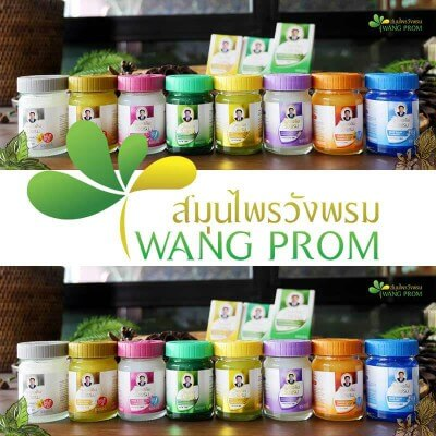 Baume thai orange cryptolepis buchanani 50g Wang Prom