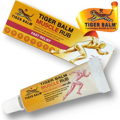 Pommade muscle rub Tiger Balm
