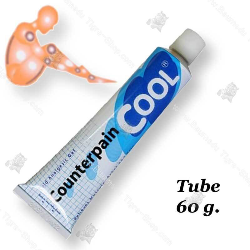 Gel analgésique sensation froid tube 60g Counterpain Cool