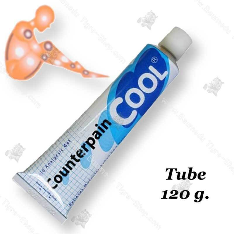 Gel analgésique sensation froid tube 120g Counterpain Cool