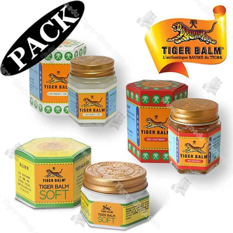 Pack sensation froid baume du tigre